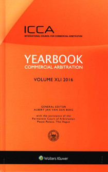 Yearbook Commercial Arbitration 2016