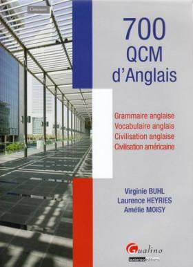 700 QCM d'anglais