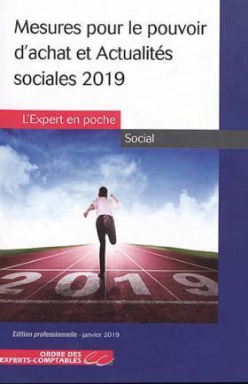 Mesures pour le pouvoir d'achat et actualités sociales 2019