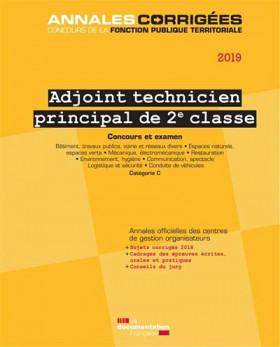 Adjoint technique principal de 2e classe 2019