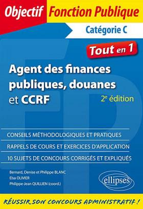 Agent des finances publiques, douanes et CCRF