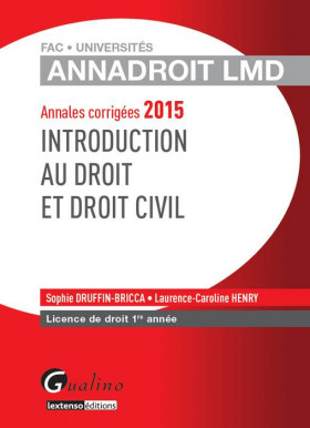 AnnaDroit LMD - Introduction au droit et droit civil