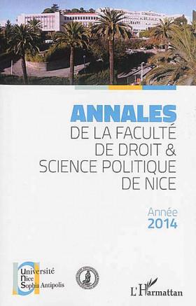 Annales de la Faculté de droit et science politique de Nice