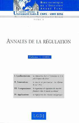 Annales de la régulation