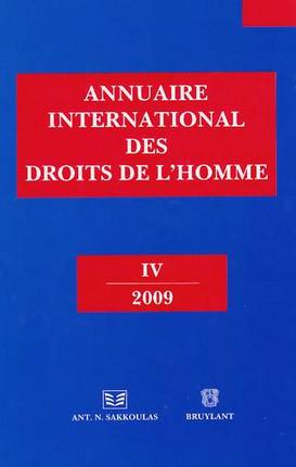 Annuaire international des droits de l'Homme