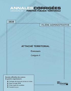 Attaché territorial 2020