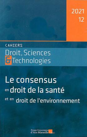 Cahiers Droit, Sciences & Technologies, 2021 N°12