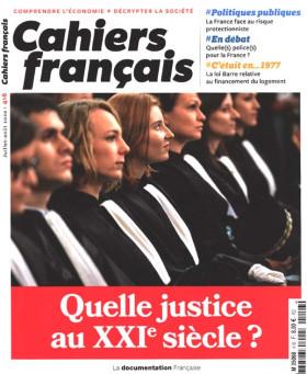 Cahiers français, juillet-août 2020 N°416