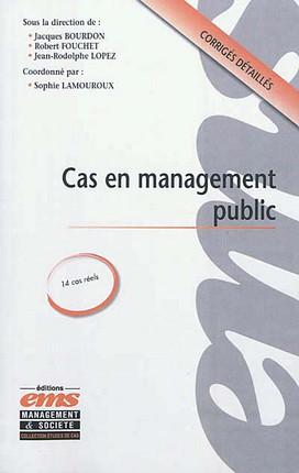 Cas en management public