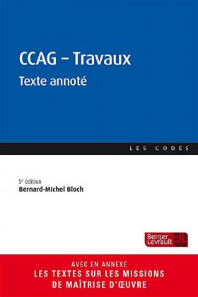 CCAG - Travaux
