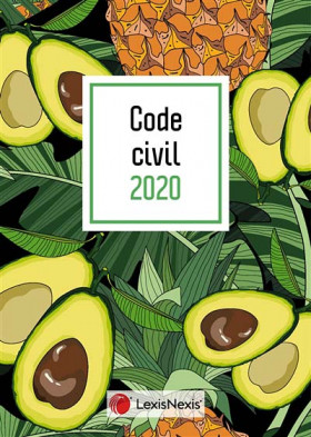 "Code civil - Édition 2020 (jaquette amovible ""avocat"")"
