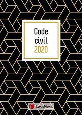 "Code civil - Édition 2020 (jaquette amovible ""geometric"")"