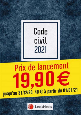 Code civil - Édition 2021 (jaquette amovible Blue)