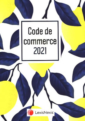 Code de commerce 2021 (jaquette amovible Lemon)