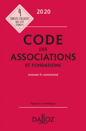 Code des associations et fondations 2020