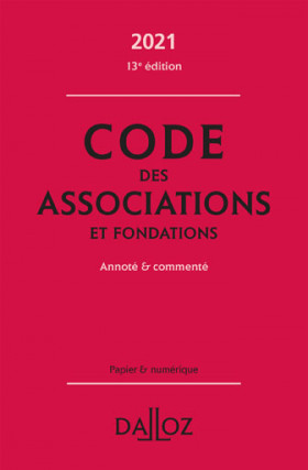 Code des associations et fondations 2021