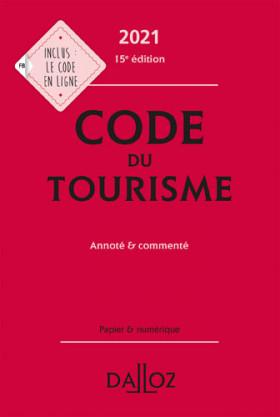 Code du tourisme 2021