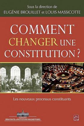 Comment changer une constitution ?