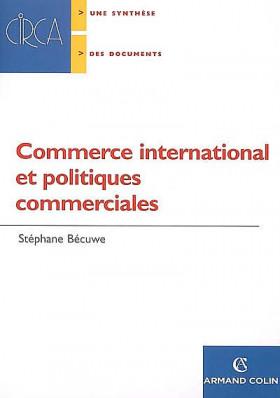 Commerce international et politiques commerciales