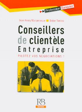 Conseillers de clientèle entreprise