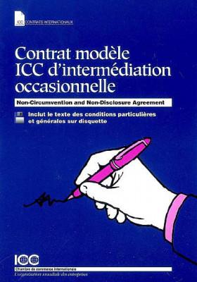 Contrat modèle ICC d'intermédiation occasionnelle (disquette incluse)
