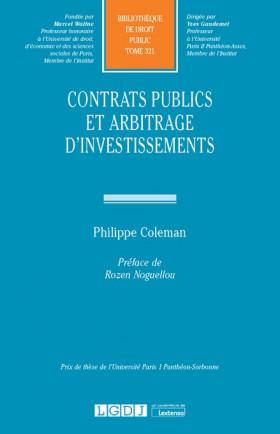 Contrats publics et arbitrage d'investissements