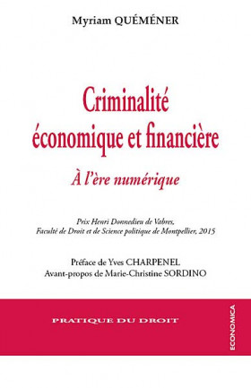 Criminalité économique et financière