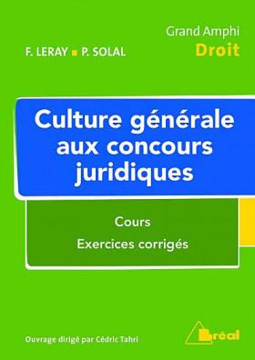 Culture générale aux concours juridiques