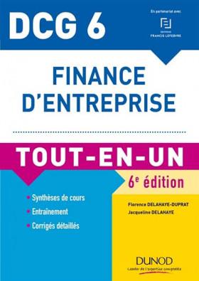 DCG 6 : finance d'entreprise