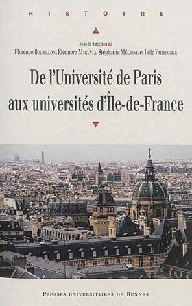 De l'Université de Paris aux universités d'Ile-de-France