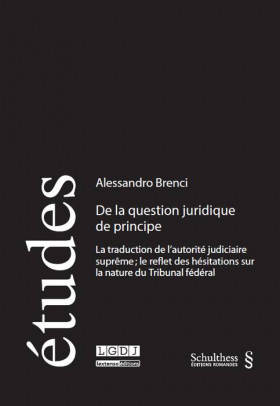 De la question juridique de principe
