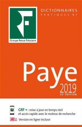 Dictionnaire paye 2019