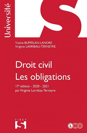 Droit civil - Les obligations 2020-2021