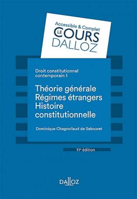 Droit constitutionnel contemporain