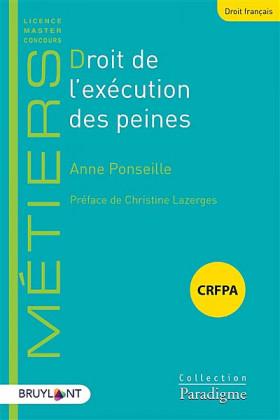 Droit de l'exécution des peines