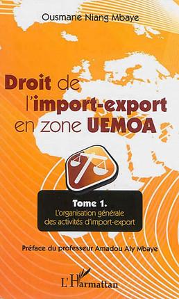 Droit de l'import-export en zone UEMOA