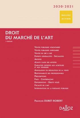 Droit du marché de l'art 2020-2021