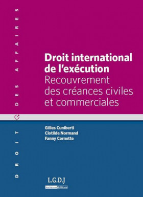 Droit international de l'exécution