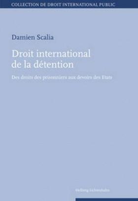 Droit international de la détention