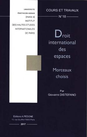 Droit international des espaces : morceaux choisis