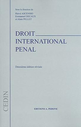 Droit international pénal
