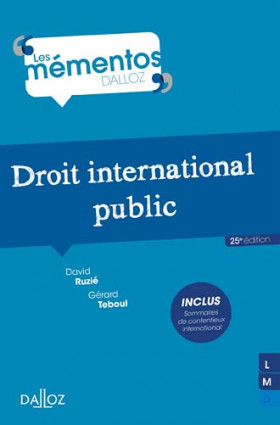 Droit international public