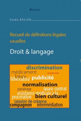 Droit & langage
