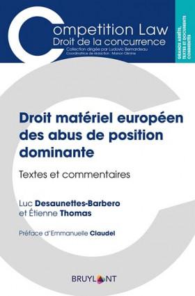 Droit matériel européen des abus de position dominante