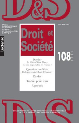 Droit & Société N°108-2021