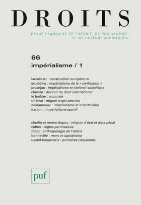 Droits, 2017 N°66