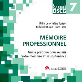 DSCG 7 - Mémoire professionnel