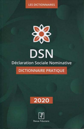 DSN 2020 -  Déclaration Sociale Nominative
