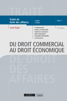 Du droit commercial au droit économique