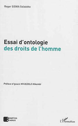 Essai d'ontologie des droits de l'homme